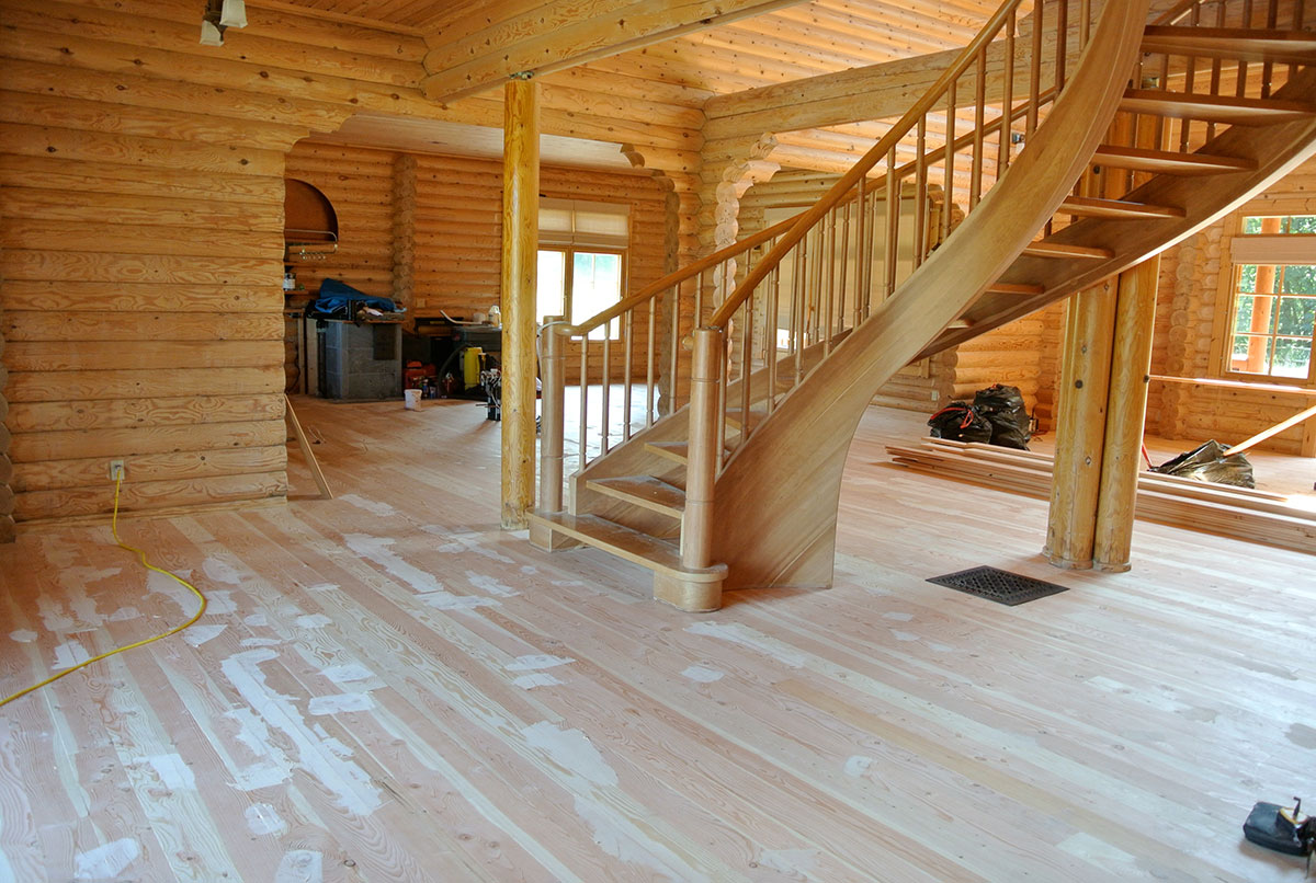 log home interior design west coast restoration dsc 1410