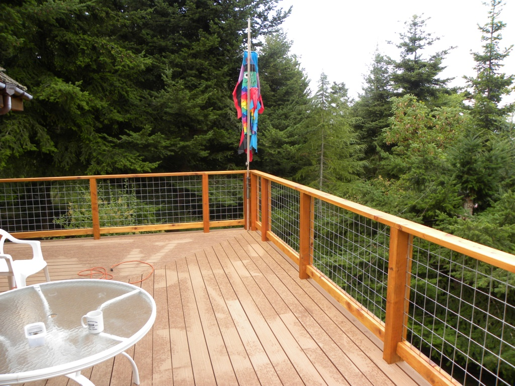 Deck Construction And Railing Systems West Coast Restoration