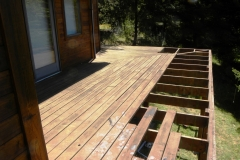 Deck Rebuilding in Progress