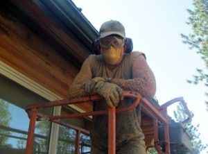 Behr Removal Log Home